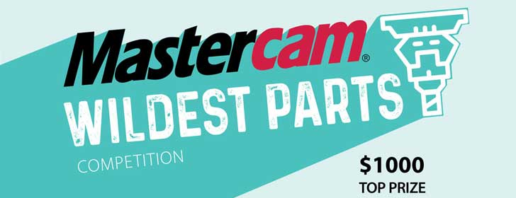 MasterCam Wildest Parts competition