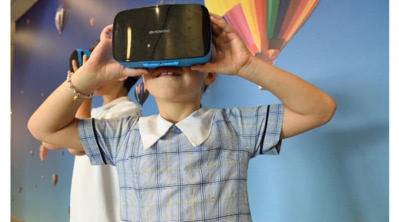 Virtual Reality in the classroom enhances STEM Education